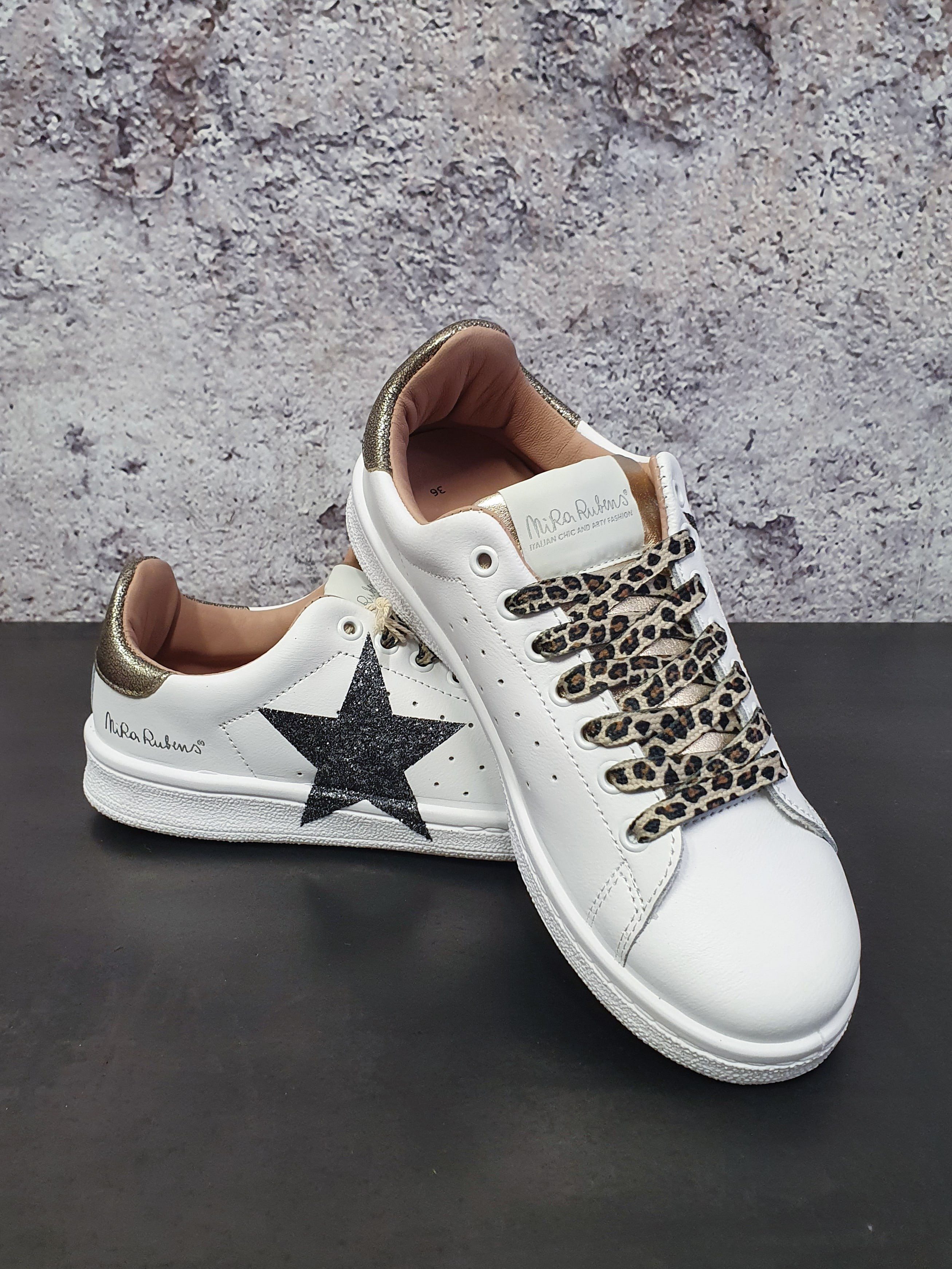 SNEAKERS HONEY GOLD NIRA RUBENS