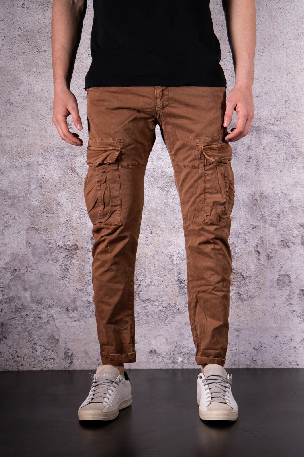CARGO COULISSE IMPERIAL MARRONE