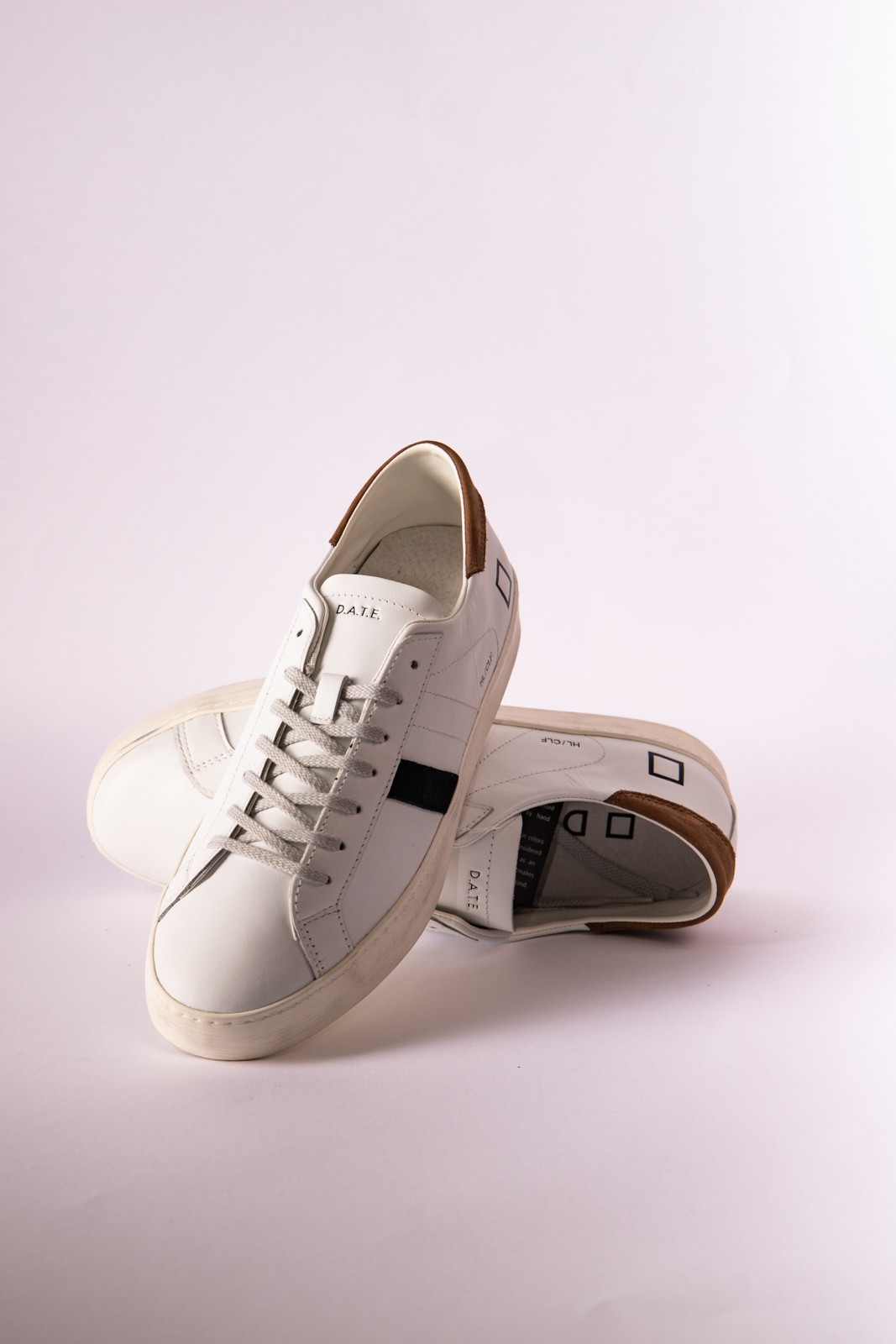 SNEAKERS HILL LOW DATE BIANCO