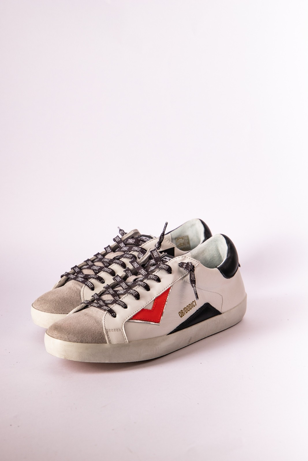 SNEAKERS QB12 ROSSO