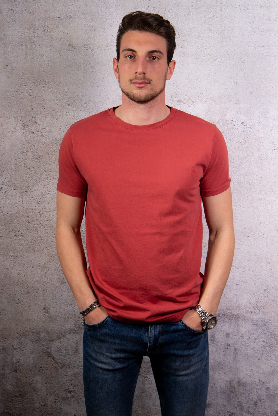 T SHIRT IMPERIAL ROSSO